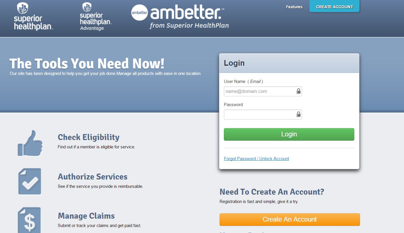 Superior Healthplan On Line Portal Ambulanceauth Com